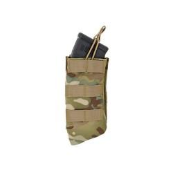 Molle avatud üksik salvetasku 7.62X39 AK salvedele, Multicamo