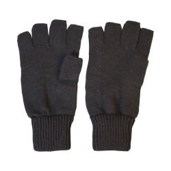 Kombat Перчатки без пальцев, черный