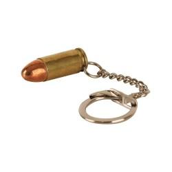 Võtmehoidja 9mm padrun, messing