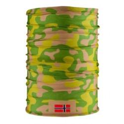 AB multifunctional headgear, tubular scarf, Norway camo