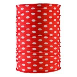 AB Multifunktsionaalne peakate ehk torusall, punane/valge