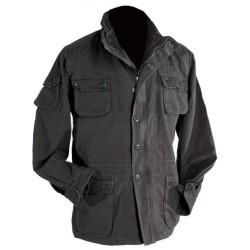 Винтажная полевая куртка «Airborne», черная