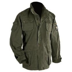 Винтажная полевая куртка «Airborne», оливково-зеленый
