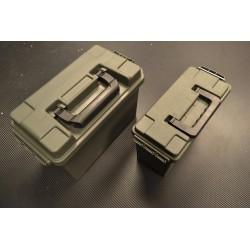 Армия Пластиковые Ammo коробки, оливково-зеленый