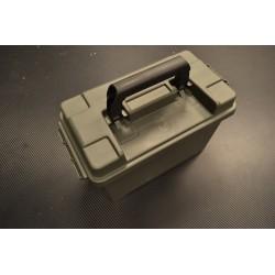 Army Plastic Ammo коробка 50. кал, оливково-зеленый
