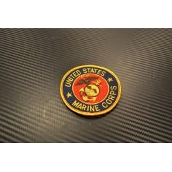 "Textile patch, ""U.S. Marine Corps"""