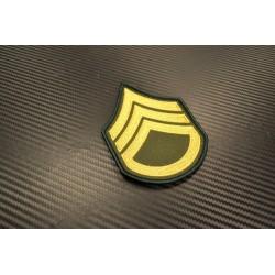 "Textile patch, ""U.S. Army - Staff Sergeant"""