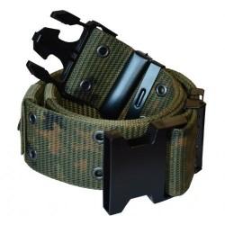US Army pistol belt LC2, flecktarn