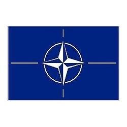 """Flag """"NATO"""", 90x150cm"""