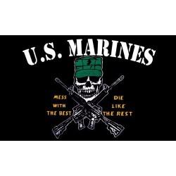 """Флаг """"U.S. Marines"""", 90x150 см"""