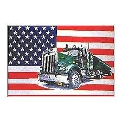 "Флаг ""United States with truck"", 90x150 см"