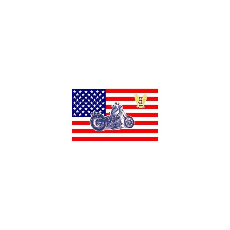 "Lipp ""United States with bike"" 90x150cm"