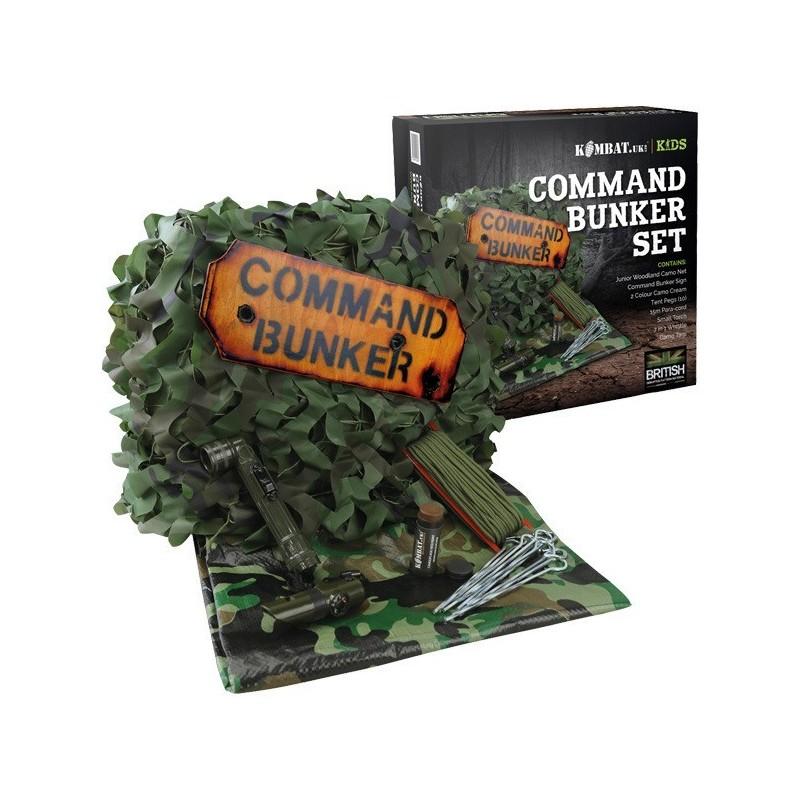 Kids Command Bunker Kit - DPM - Militaarpood ja matkatarbed - Pain OÜ