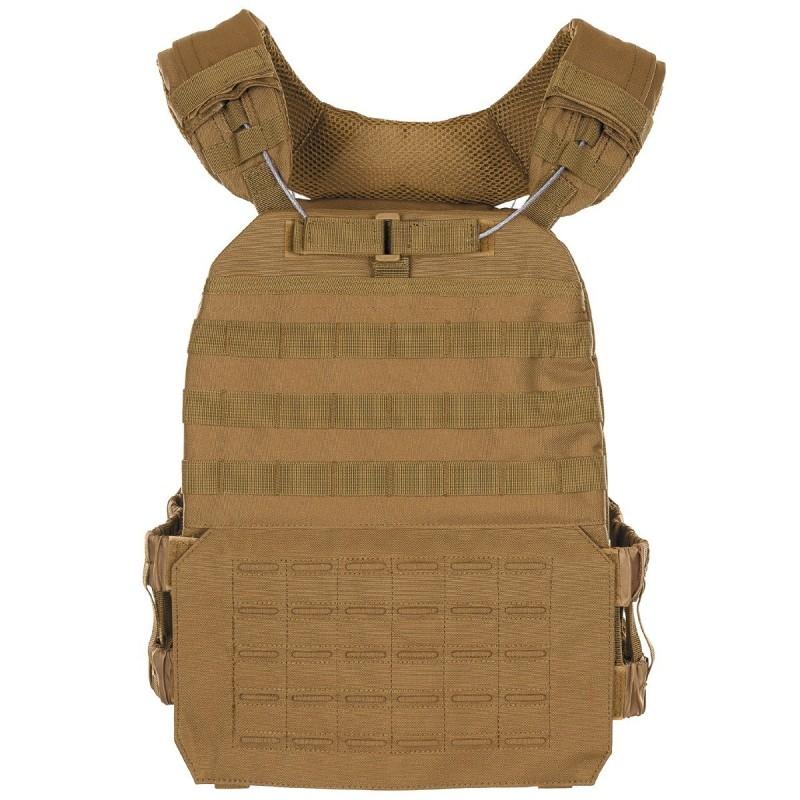 "Tactical Vest ""Laser Molle"", coyote tan"