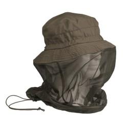 Boonie müts koos sääsevõrguga, oliivroheline