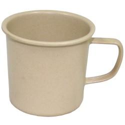 Чашка, бамбук, 400 мл, бежевый