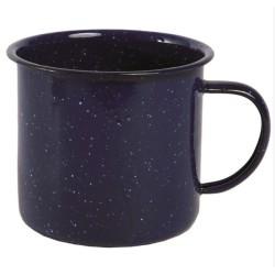 Enamelled mug Western 680 ml