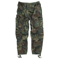 AB Vintage stonewashed pants, woodland