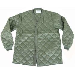 Swedish jacket liner, olive green